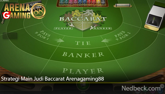 Strategi Main Judi Baccarat Arenagaming88