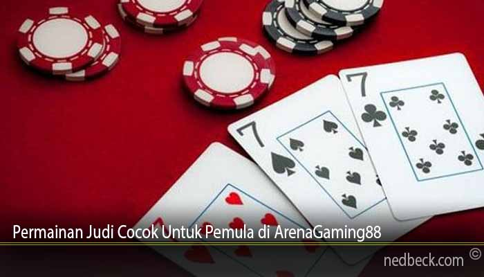 Permainan Judi Cocok Untuk Pemula di ArenaGaming88
